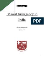 Maoist Insurgency in India.docx1
