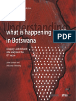 Policy Paper 1 - Understanding What is Happening in ICT in Botswana
