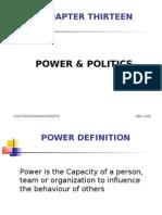 13.Power and Politics