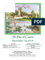 St. Rita Parish Bulletin 11/16/2014