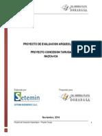 Plan de Evaluacion Arqueologica Taruga