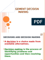 2.Mgmt Decision Making