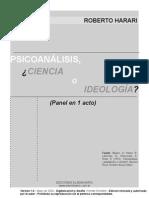 Harari Psicoanalisis Ideologia Ciencia