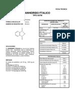 anhidrido ftalico DataSheet
