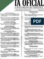 Gaceta40359 Validez Certificados Medicos