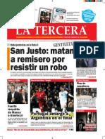 Diario La Tercera 19.11.2014