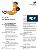 Insecure Work Conference Program 2014