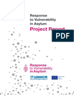 Response to Vulnerability Asylum Seeker 2012