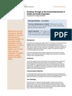 RWJF Breaking Through Social Determinants and Disparities.pdf