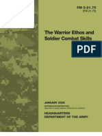 Army - fm3 21x75 -The Warrior Ethos and Soldier Combat Skills