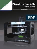 Duplicator 4 4X User Manual
