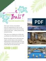 Bali Incentive Trip 2015 Scentsy