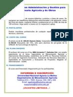 Administración de Maquinaria Agrícola y de Obras-marzo 2015