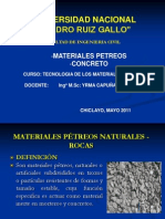 Materiales Petreos y Concreto