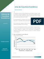 Informe Coyuntura Económica - Octubre 2014
