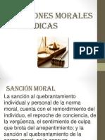 Sanciones Morales y Jurídicas