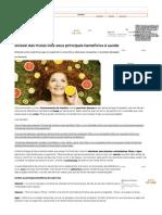 Dossiê Das Frutas Lista Seus Principais Benefícios à Saúde - Bolsa de Mulher