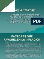Crecimiento vs inflacion
