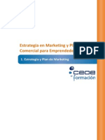 Estrategia y plan de marketing