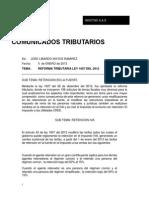 Circular Reforma Tributaria
