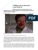 Morte de Robin Williams Põe Em Discussão a Sensibilidade Dos Que Fazem Rir