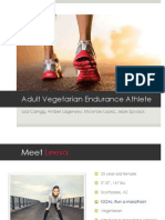 Adult Vegetarian Endurance Athlete Case Study