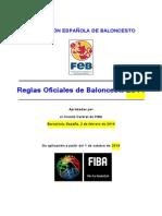Reglas Oficiales de Baloncesto 2014