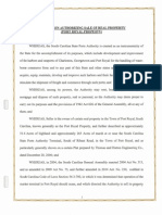 20141119_AuResolution to sell the Port of Port RoyalthSaleofPortRoyal