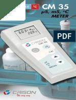 CM 35 Conductimetro