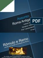 Reviso6ano Romaantiga 120923104005 Phpapp01