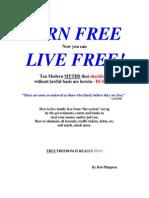 You Were Born Free Now You Can Live Free by Bob Plimpton