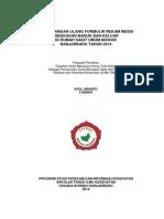 Perancangan Ulang Formulir Rekam Medis Ringkasan Masuk Dan Keluar Di Rumah Sakit Umum Mawar Banjarbaru Tahun 2014