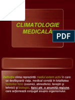 CLIMATOLOGIE MEDICALĂ