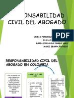 Responsabilidad Civil del Abogado