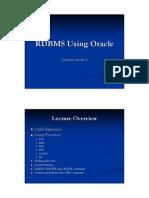 SQL Lecture-4