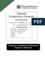Evd de Logico Matematica