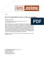 Dam Instability Risk Analysis of Damaged Spillway-4823-1-PB