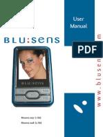 User Manual Blusens MP4 1027, 1028