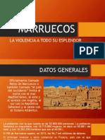 VIOLENCIA EN MARRUECOS