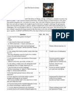 book criteria checklist - final