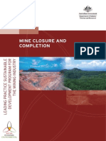Mine Closure and Completion