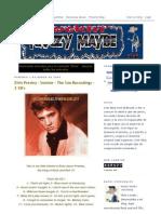 Elvis Presley Rockin Krazy Maybe 03