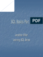 SQL Basics II