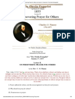 On Persevering Prayer for Others by Charles G