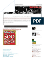 Rolling Stone Magazine's 500 Greatest Songs 01