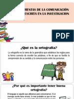 HERRAMIENTAS DE LA COMUNICACION ORAL Y ESCRITA