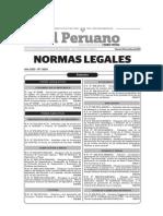 d.s. Nº 012-2014-Tr Registro Unico Accidentes Trabajo, Incidentes Peligrosos y Enfermedades Ocupacionales