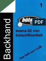 Backhand 2001/2002 Nr. 1
