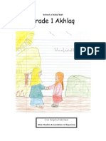 Grade 1 Akhlaq( 2nd Edition)
