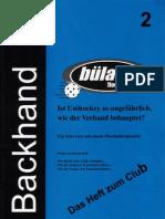 Backhand 2001/2002 Nr. 2